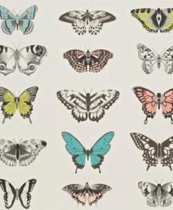 Telas papel tienda online papeles pintados y telas for Papel pintado mariposas