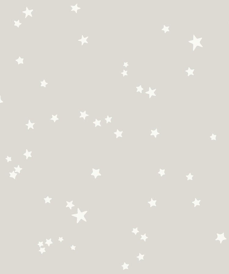 Tienda online telas papel estrellas en las paredes for Papel pintado rosa y gris