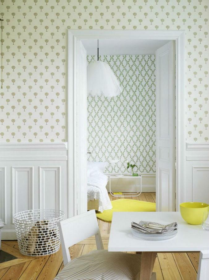Tienda online telas papel dale un cambio a tu cocina - Papel para las paredes ...