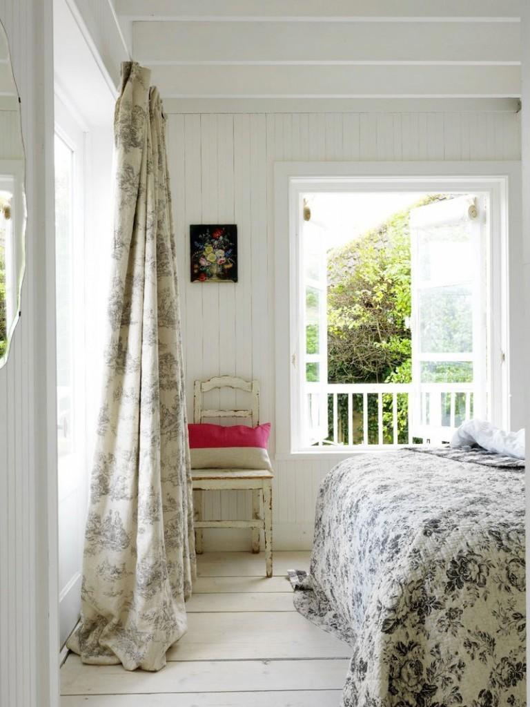 Tienda online telas papel decora tu dormitorio con - Dormitorio shabby chic ...