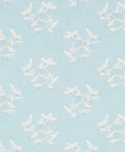 papel-gaviotas-azul