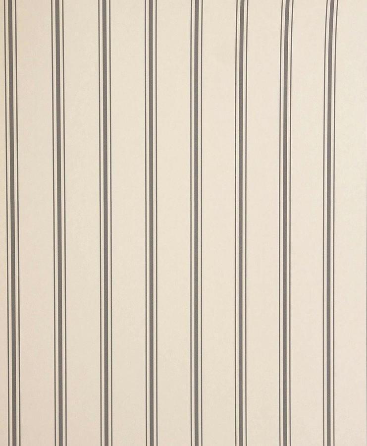 Tienda online telas papel papel pintado rayas jolie carbon for Papeles pintados ingleses