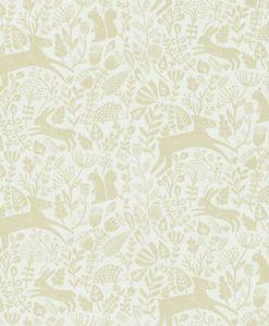 papel-pintado-animalitos-bosque-beige galleta