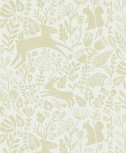 papel-pintado-animalitos-bosque-beiges