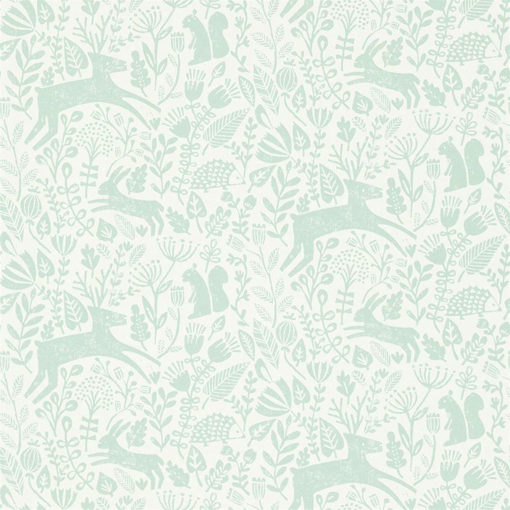 Tienda online telas papel papel pintado animalitos agua - Papel pintado on line ...
