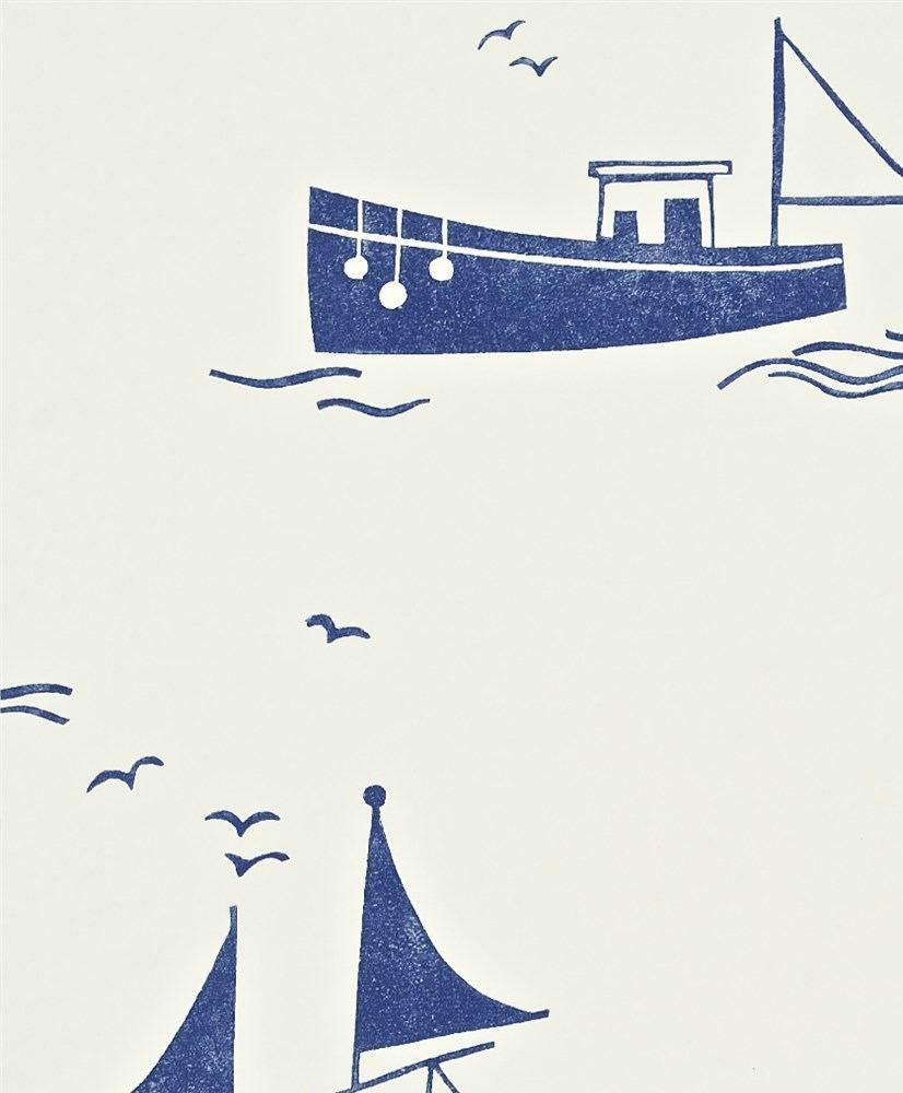 tienda online telas & papel   Papel barcos vintage marino
