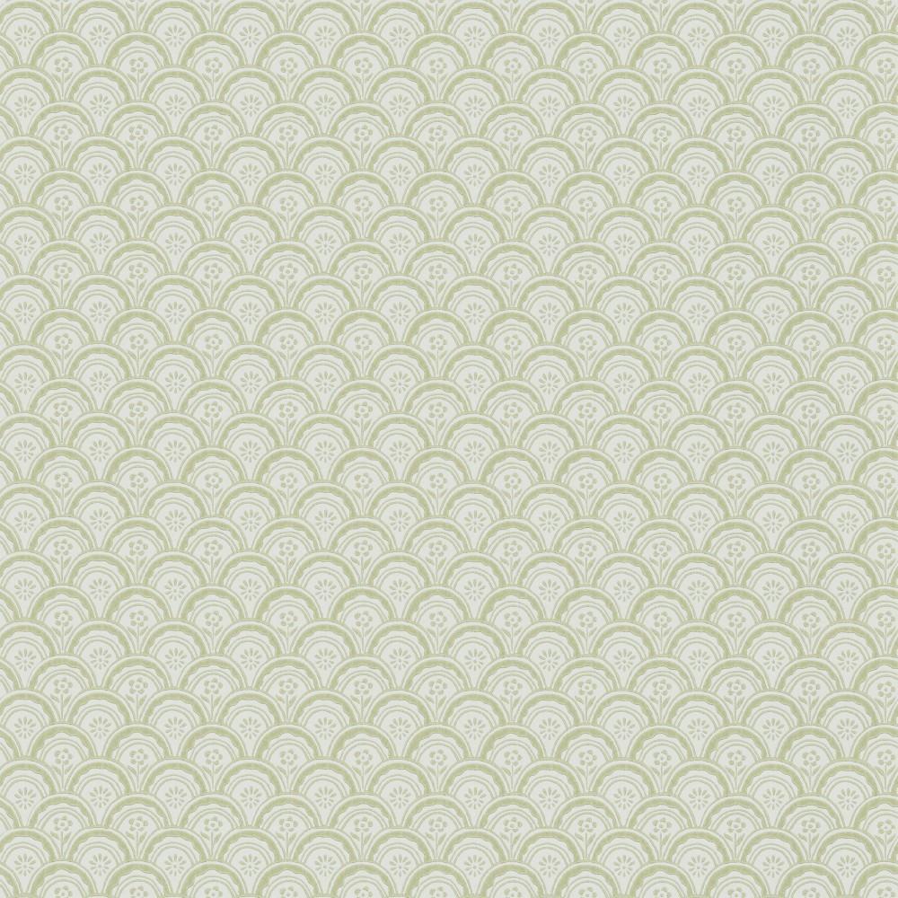 Tienda online telas papel papel pintado beata verde for Papel pintado verde