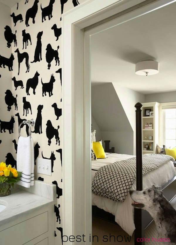 Tienda online telas papel en telas y papel nos encantan los animales - Papel pintado negro ...