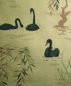 papel-pintado-cisnes-dorado copia