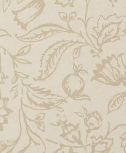 Tienda online telas papel papel pintado marie lino crema - Papeles pintados ingleses ...