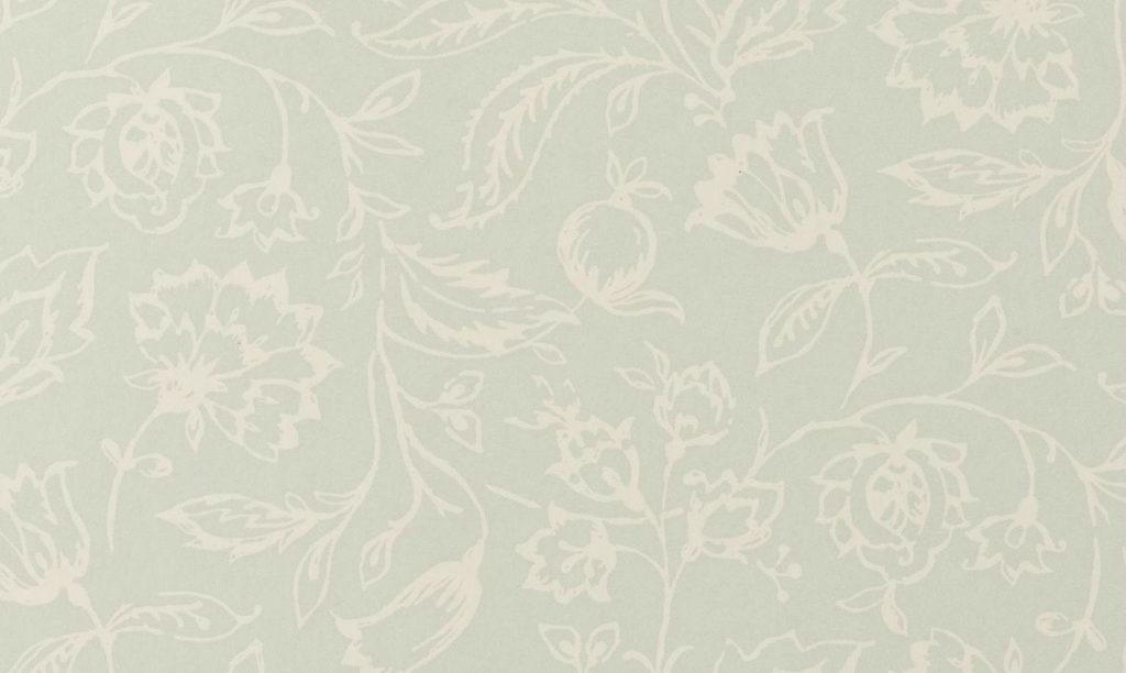 Tienda online telas papel papel pintado marie azul verdoso - Papeles pintados ingleses ...