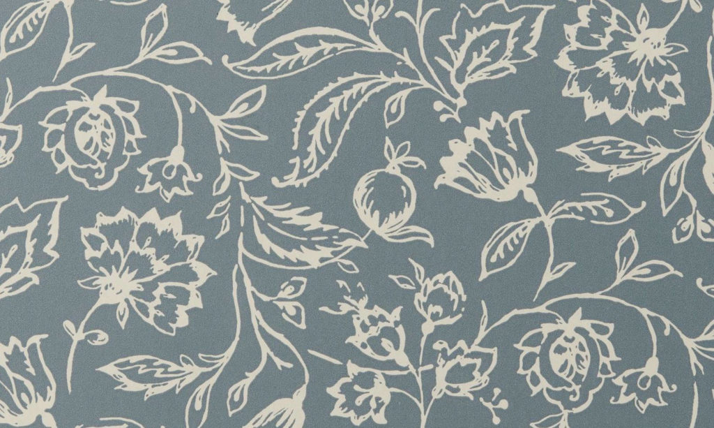 Tienda online telas papel papel pintado marie azul - Papeles pintados ingleses ...