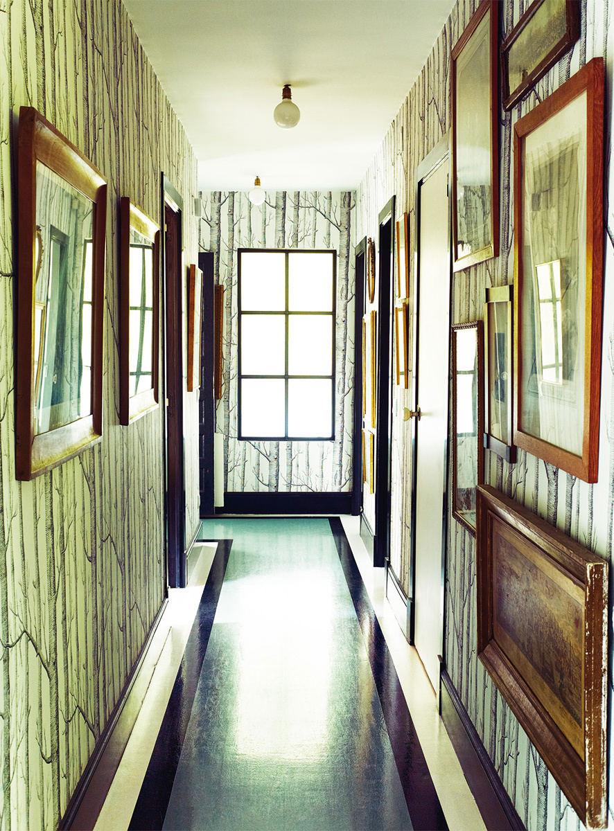 Tienda online telas papel los papeles pintados de casa - Papel pintado pasillo ...