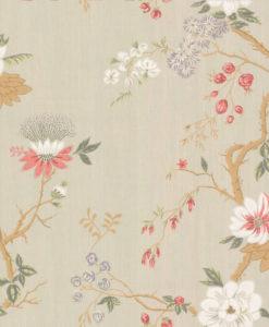 Tienda online telas papel papel pintado flores - Papeles pintados japoneses ...