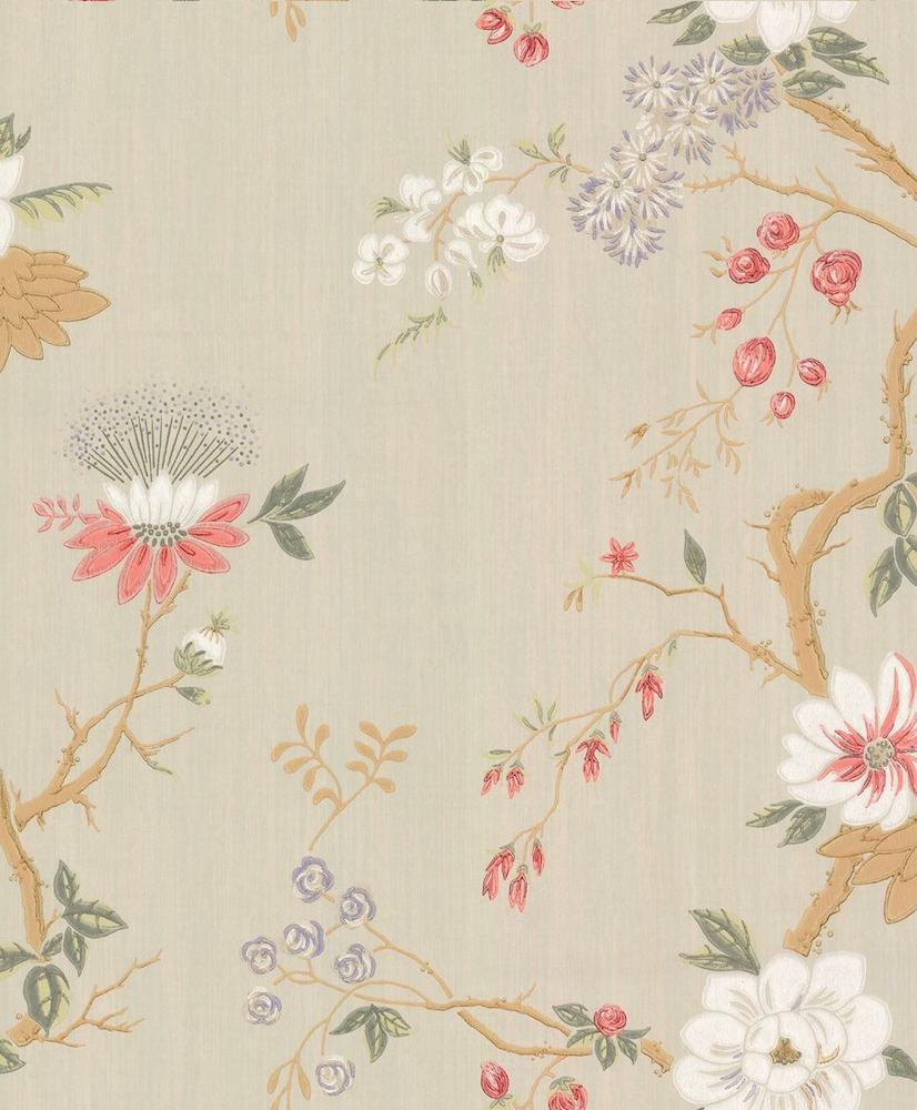 Tienda online telas papel paredes con flores en el for Catalogo papel paredes
