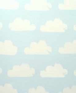 papel-infantil-nubes-azul