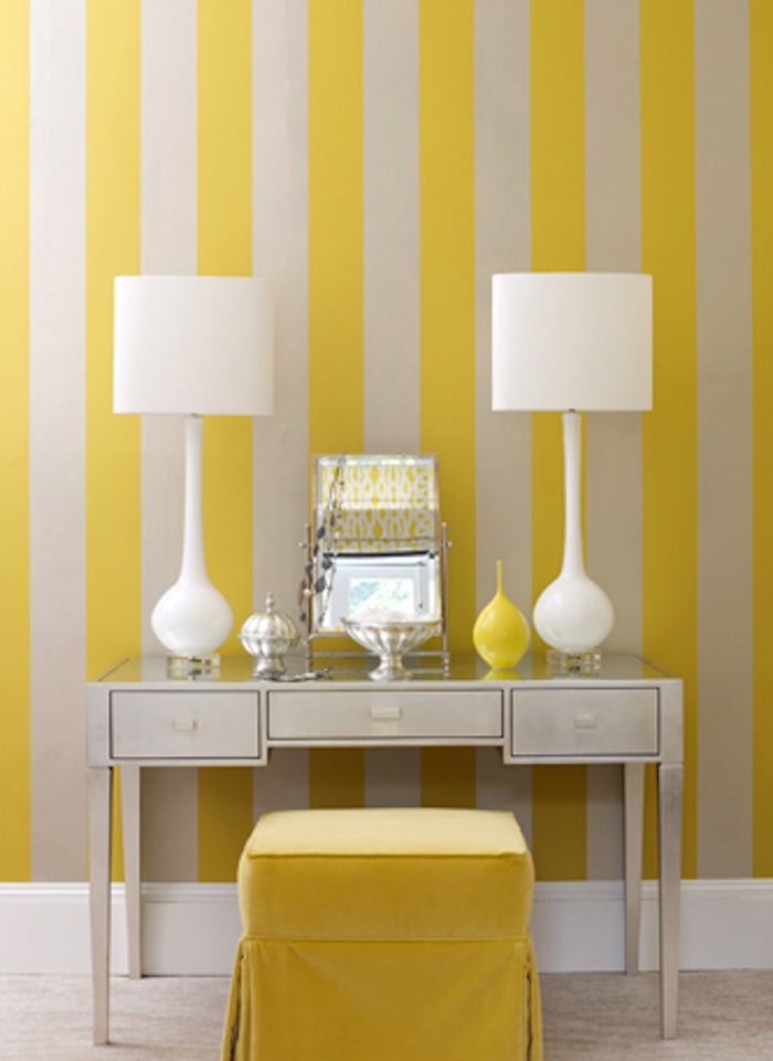 Tienda online telas papel nos gusta el papel pintado - Paredes a rayas verticales ...