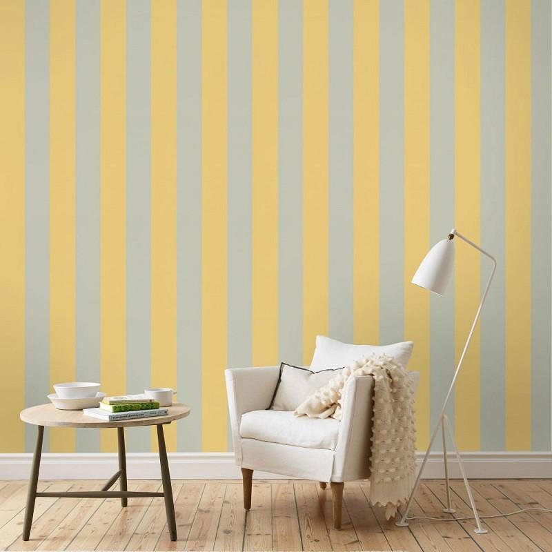 Tienda online telas papel rayas horizontales o - Papel pintado de rayas verticales ...