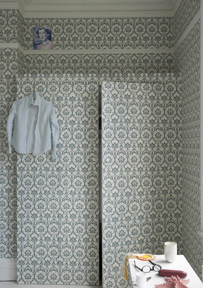 Tienda online telas papel 10 sitios donde colocar for Papel pintado para puertas