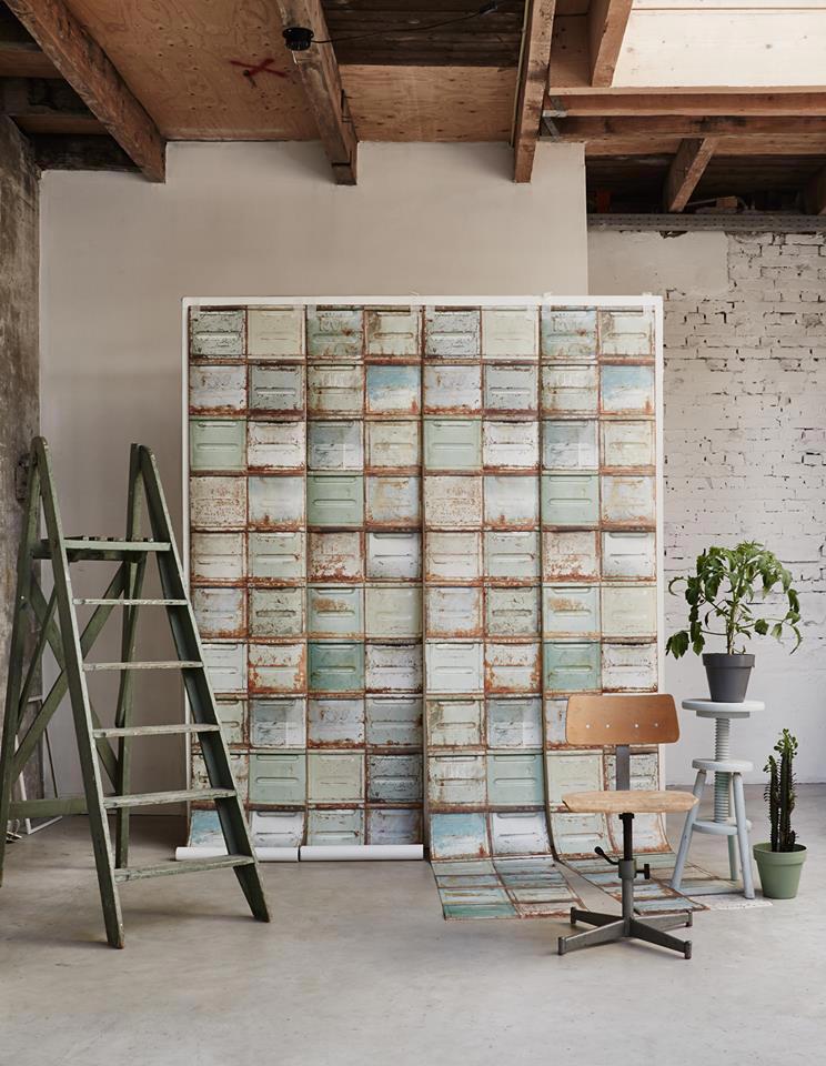 Tienda online telas papel paredes estilo industrial for Catalogo papel paredes