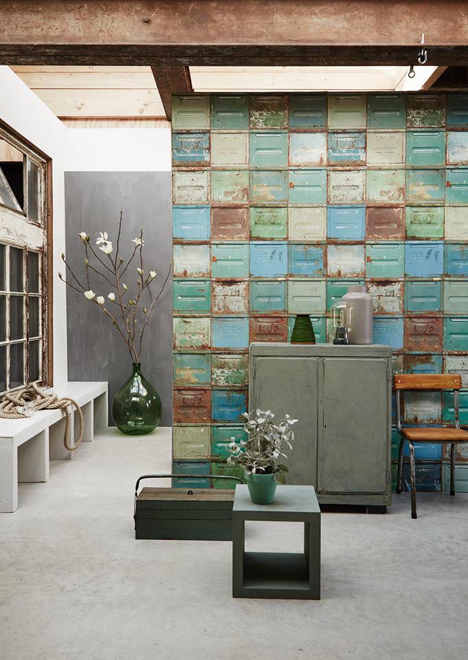 Tienda online telas papel paredes estilo industrial for Papel pintado grueso