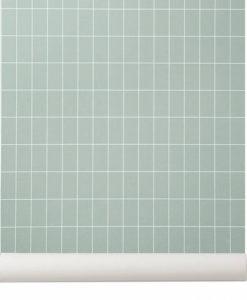 papel-cuadricula-verde-3