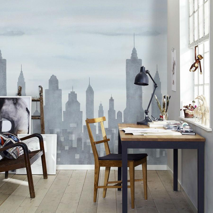 Tienda online telas papel mural papel pintado new york - Papel pintado nueva york ...