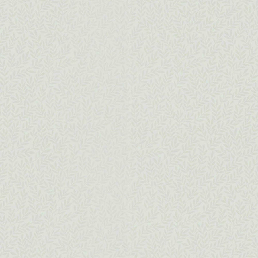 Tienda online telas papel papel pared hojitas mika blanco - Papel pared blanco ...