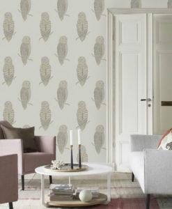 Tienda online telas papel mural papel pintado new york - Papel pared gris ...