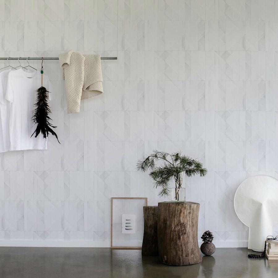 Tienda online telas papel papel pared papeles blanco - Papel pared online ...