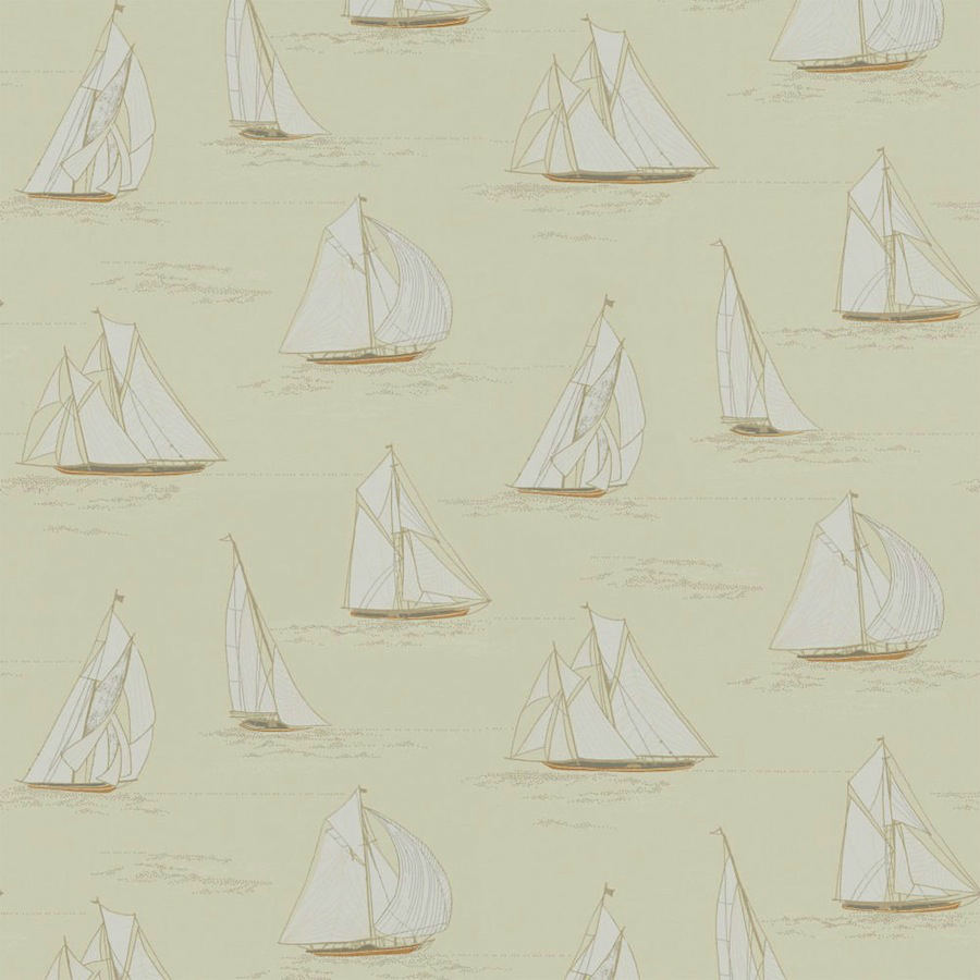 Tienda online telas papel papel pared veleros beige - Papel pared online ...