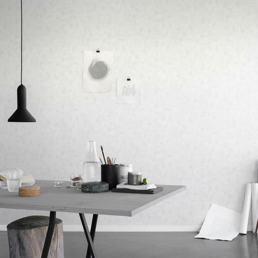 Tienda online telas papel papel pintado encalado tiza for Papel pintado blanco