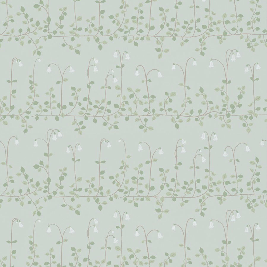 Tienda online telas papel papel pintado linea flores gris - Papel pintado online ...