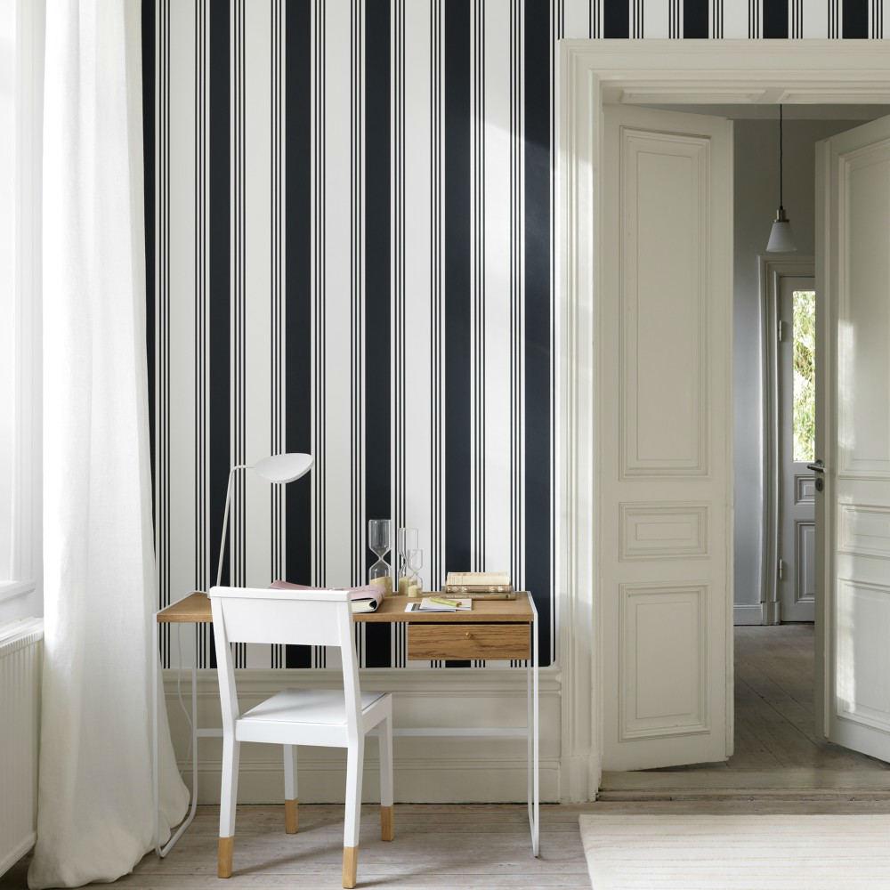 Tienda online telas papel paredes decoradas con rayas - Papel con rayas ...