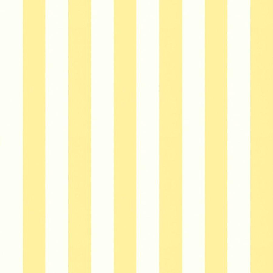 Tienda online telas papel papel pintado rayas magnus amarillo - Papel con rayas ...