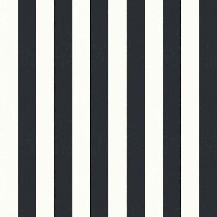 Tienda Online Telas Papel Papel Pintado Rayas Magnus Negro
