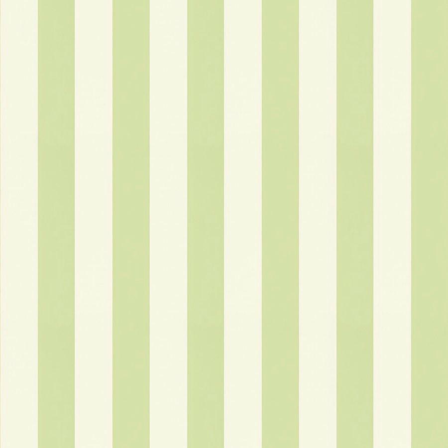 Tienda online telas papel papel pintado rayas magnus verde for Papel pintado hojas verdes