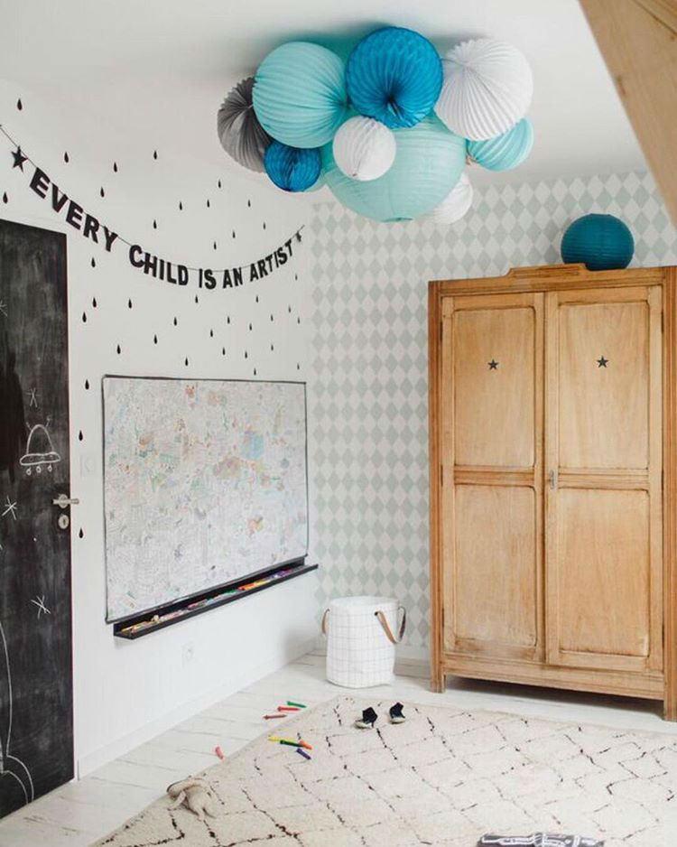 Tienda online telas papel papel pintado para una - Papel habitacion infantil ...