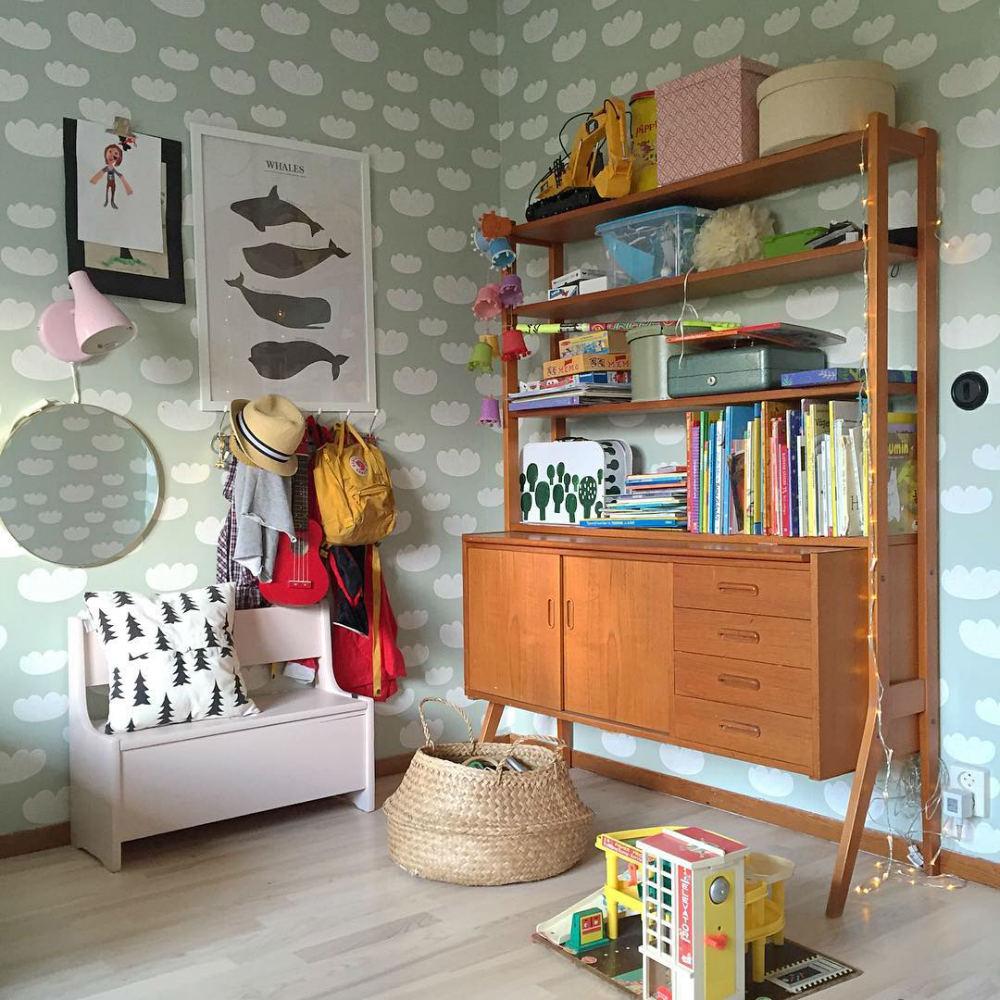 Tienda online telas papel papel pintado para una - Habitaciones con papel pintado ...