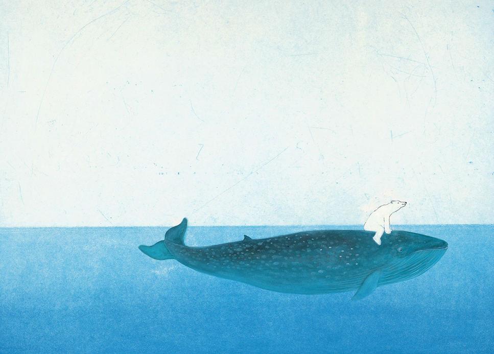 Tienda online telas papel mural papel infantil ballena for Colocar papel mural