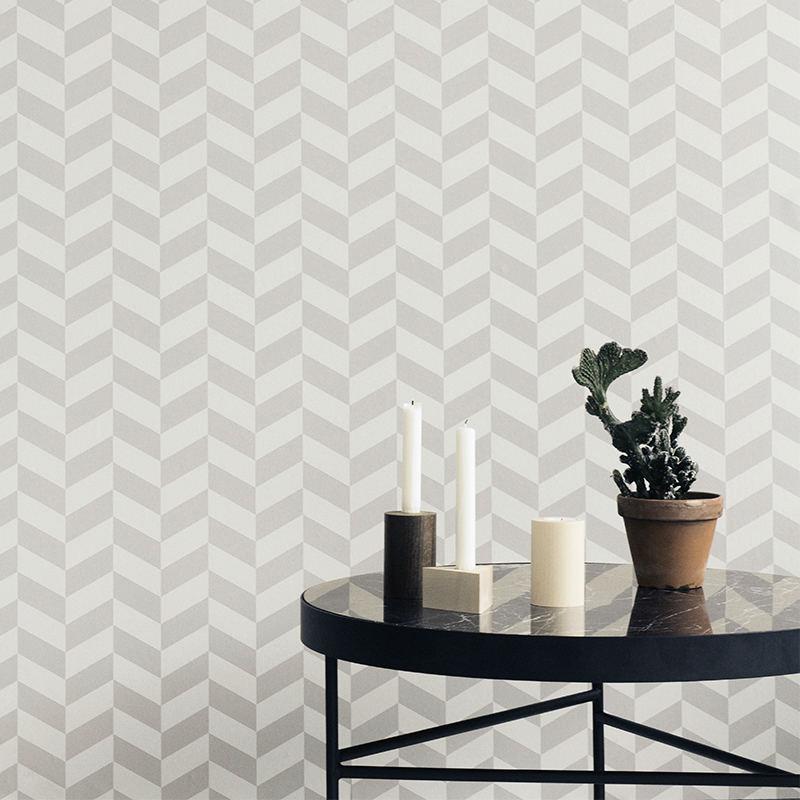 Tienda online telas papel angulo gris y blanco - Papel pintado gris ...