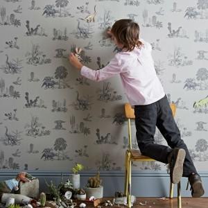 papel-pintado-magnetico-dinosaurios-gris-1