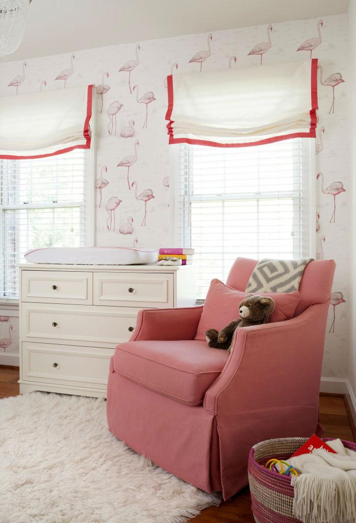 tienda online telas papel un cuarto de bebe con