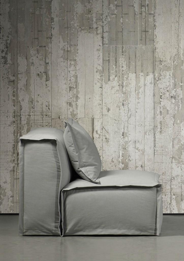 tienda online telas & papel | Consigue paredes de hormigón con papel ...