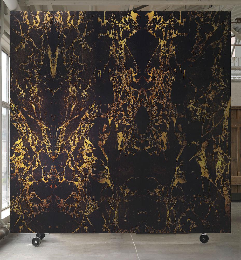 Tienda online telas papel papel pintado m rmol negro for Marmol negro precio
