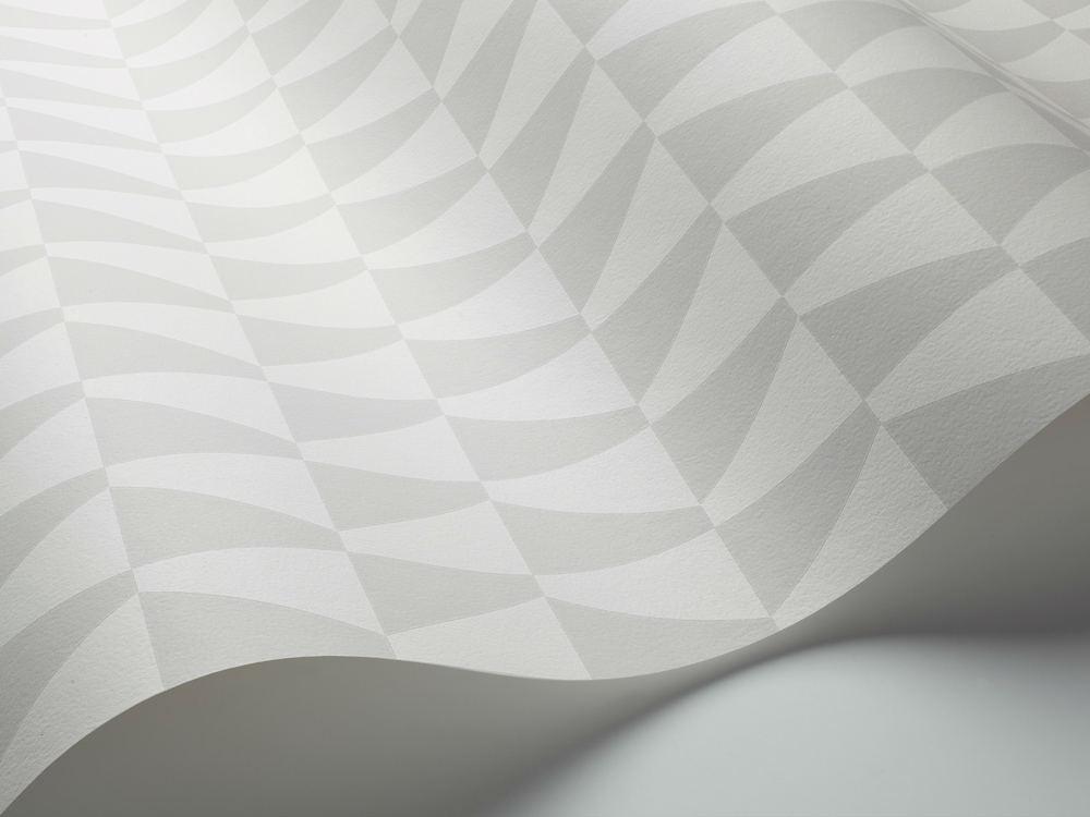 Tienda online telas papel papel pintado geom trico jacobsen gris - Papel pintado gris ...