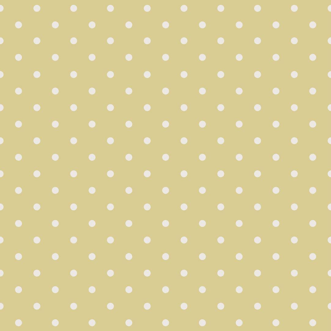 tienda online telas & papel   Papel pintado lunares vintage color ...