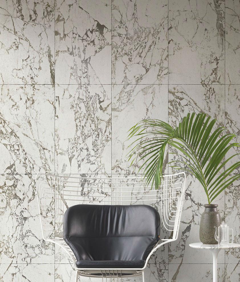 Tienda online telas papel papel pintado m rmol blanco - Catalogo de papel pintado para paredes ...