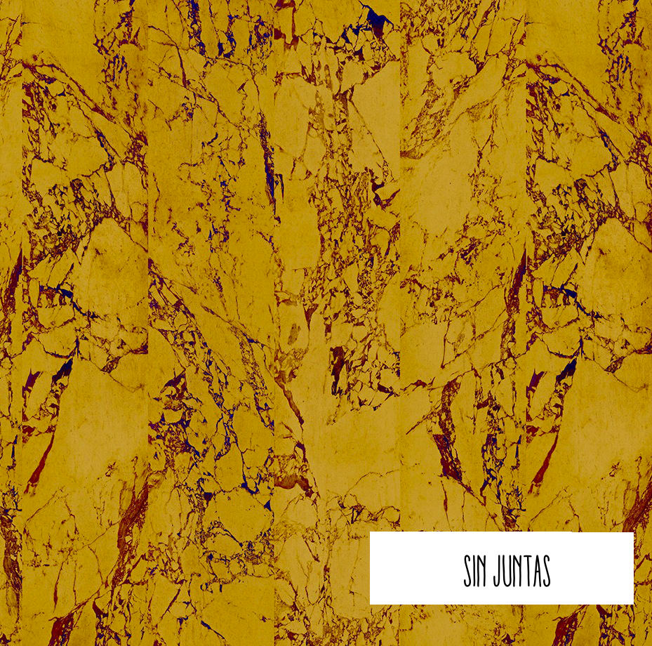Tienda online telas papel papel pintado m rmol dorado metalizado - Papel pintado metalizado ...