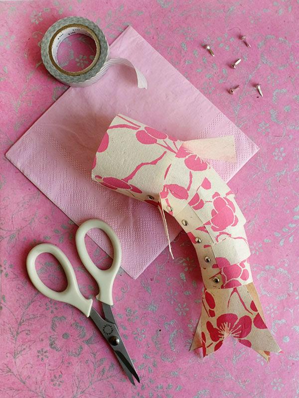 Tienda online telas papel tres manualidades con retales de papel pintado para estas navidades - Manualidades con papel pintado ...